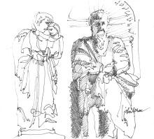 """Sketchbook Page 17"" - Jon Lorie"