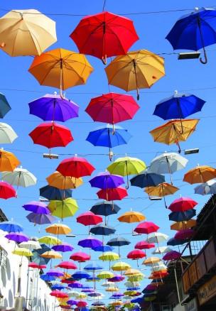 """""""Umbrella Street"""" - Lauren Tivey"""
