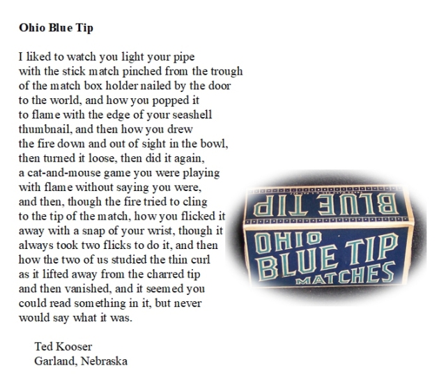 Ohio Blue Tip by Ted Kooser